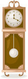 Antique standing clock Royalty Free Stock Photos