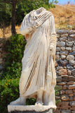 Antique statue. Antique brainless statue in an antique city the Ephesus Royalty Free Stock Image
