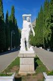 Antique statue of Artemis (Diana) in Simeiz Royalty Free Stock Photo