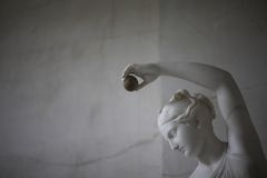 Antique statue. Royalty Free Stock Photos