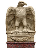 Antique statue - eagle with a sword Stock Photography