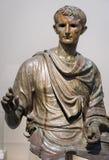 Antique statue of emperor Augustus royalty free stock photo
