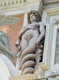 Antique statue of meduza Villa d'Este Royalty Free Stock Photography