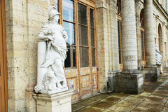 Antique statue near the Palace in Gatchina Stock Photography