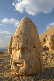 Antique statue on Nemrut, Turkey royalty free stock image