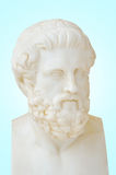 Statue of Sophocles. Antique statue of Sophocles, he is one of three ancient Greek tragedians whose plays have survived Stock Image