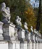 Antique statues Royalty Free Stock Photos