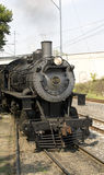 Antique steam locomotive Stock Photos