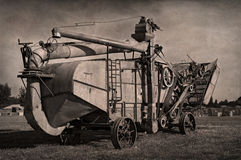 Antique Steam Thresher Royalty Free Stock Photo