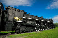 Antique Steam Train Engine 6200 Royalty Free Stock Photography
