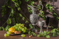 Antique still life Stock Image