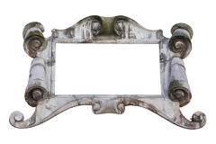 Antique stone frame Stock Photo