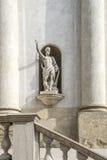 Antique stone statue Royalty Free Stock Photo