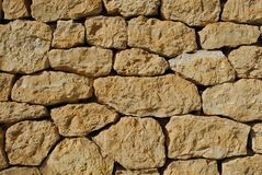 antique stony wall  Royalty Free Stock Photos