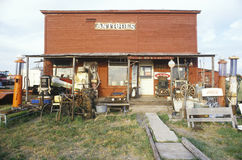 Antique store, OK Royalty Free Stock Photos