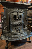 Antique stove Royalty Free Stock Photo