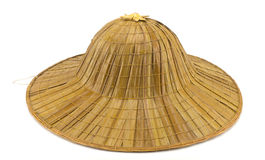 Antique straw hat Stock Image
