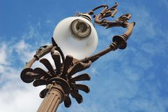 Antique street lamp Royalty Free Stock Images