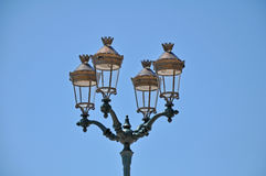Antique street lamp Royalty Free Stock Photography