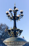 Antique Street Lamp - Central Park, New York Royalty Free Stock Photography