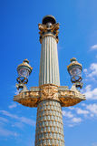 Antique street lantern in Paris Royalty Free Stock Image