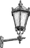 Antique street lantern Stock Photo
