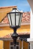 Antique street latern. In Cartagena de Indias Stock Images