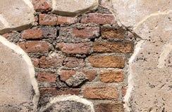 Antique street textured wall Stock Photos