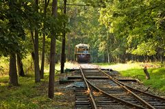 Antique Street Trolley - 7 Royalty Free Stock Image