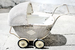 Antique stroller Stock Photography