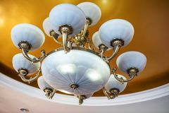 Antique Style Chandelier royalty free stock photos