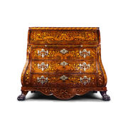 Antique style dresser isolated Royalty Free Stock Image