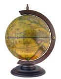 Antique style globus. Desk antique style globus-souvenir Stock Photos