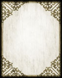 Antique Style Paper/ Lace Corners royalty free stock images