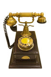 Antique style phone Royalty Free Stock Photo