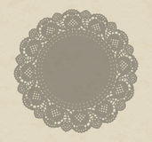 Antique style shadow pattern effect on textured paper. Royalty Free Stock Images