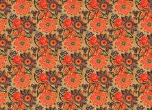 Antique style wallpaper Royalty Free Stock Photography