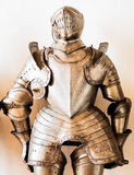 Antique suit of armor Stock Image