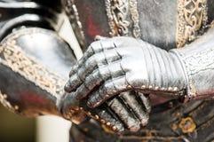 Antique suit of armor Stock Photo