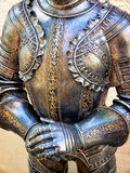 Antique suit of armor Stock Images