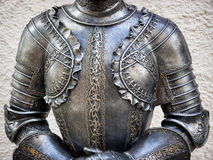 Antique suit of armor Royalty Free Stock Photos