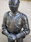Antique suit of armor Stock Photos