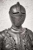 Antique suit of armor Stock Photo