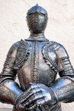 Antique suit of armor Stock Photography