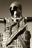 Antique suit of armor Royalty Free Stock Photo