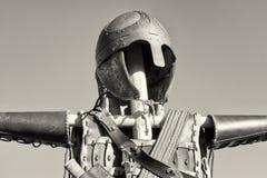Antique suit of armor Stock Image
