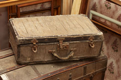 Antique suitcase Royalty Free Stock Image