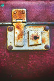 Antique Suitcases, оld Vintage trunks Royalty Free Stock Image