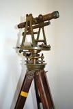 Antique Surveying equipment Royalty Free Stock Photos