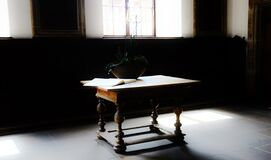 Antique table Royalty Free Stock Images